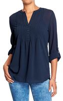 Old Navy Chiffon Tops - Lyst