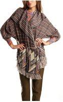 Suno Yarn Embroidery Shawl Jacket - Lyst
