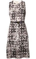 Akris Double Crepe Dress - Lyst