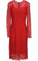 Dolce & Gabbana 34 Length Dress - Lyst