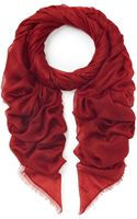 Bally Cashmere Voile Scarf - Lyst