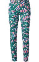 Kenzo Palm Print Jeans - Lyst