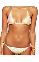 We Are Handsome The Mighty String String Bikini Set - Lyst