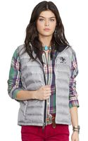 Polo Ralph Lauren Quilted Down Puffer Vest - Lyst
