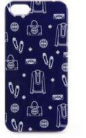Tory Burch Icon-print Iphone 5 Case - Lyst
