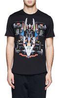 Givenchy Racing Car Print T-Shirt - Lyst