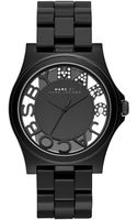 Marc By Marc Jacobs Ladies Crystallized Henry Skeleton Watch - Lyst
