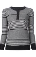 Joseph Striped Sweater - Lyst