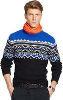 Polo Ralph Lauren Fair Isle Crewneck Sweater - Lyst