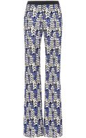 Giambattista Valli Macrame Pants in Blue - Lyst