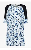 French Connection Porcelain Sheen Tunic Dress - Lyst