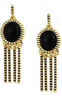 House Of Harlow Sunburst Fringe Earrings  - Lyst