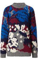 Joseph Vintage Knit Floral Sweater - Lyst