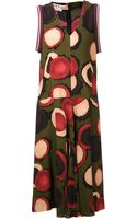 Marni Printed Dress - Lyst