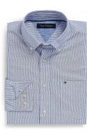 Tommy Hilfiger Classic Fit Stripe Oxford Shirt - Lyst