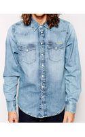 Pepe Jeans Denim Shirt - Lyst