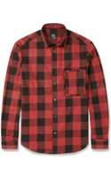 McQ by Alexander McQueen Check Cotton Shirt - Lyst
