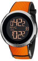 Gucci Digital Rubber Watch - Lyst