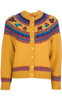 Kenzo Vintage Floral Embroidered Cardigan - Lyst