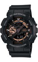 G-shock Mens Analog Digital Black Resin Strap 51x55mm Ga110rg1a - Lyst