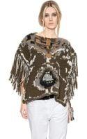 Etoile Isabel Marant Sleeveless Wool Blend Sweater - Lyst