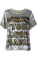 Ashish Sequin Embellished Tshirt - Lyst