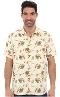 Tommy Bahama Island Modern Fit Leisure League Short Sleeve Camp Shirt - Lyst