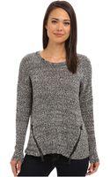 Kensie Mixed Tape Yarn Sweater - Lyst