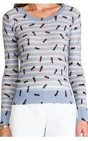 Sonia By Sonia Rykiel Fine Lipstick Sweater - Lyst