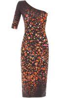 Preen By Thorton Bregazzi Ivy Forgetmenot One Shoulder Dress - Lyst