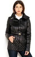 Ellen Tracy Iridescent Packable Down Jacket - Lyst