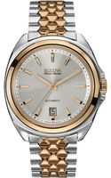 Bulova Accuswiss Mens Automatic Telc Two-tone Stainless Steel Bracelet Watch 42mm 65b159 - Lyst