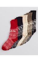 Hue Nordic Cuffed Boot Socks - Lyst
