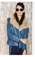 Nasty Gal My Mind Leather Jacket - Lyst