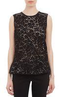 Derek Lam Panel Lace Sleeveless Top - Lyst