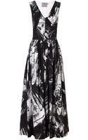 Preen Black Birds Vertigo Dress - Lyst