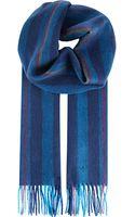 Paul Smith Wool Striped Scarf - Lyst