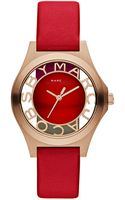 Marc By Marc Jacobs 34mm Henry Skeleton Watch - Lyst
