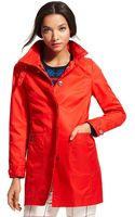 Tommy Hilfiger Solid Trench - Lyst