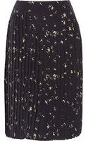 Marni Printed Silk Skirt - Lyst
