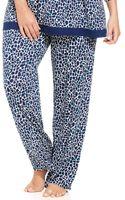 Ellen Tracy Plus Size Autumn Pajama Pants - Lyst