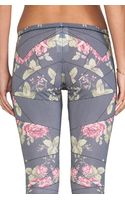 McQ by Alexander McQueen Printed Legging in Black - Lyst