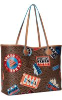 Jonathan Adler Duchess Destination Medium Ew Tote - Lyst