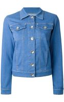 Love Moschino Denim Jacket - Lyst