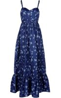 Band Of Outsiders Long Dress - Lyst