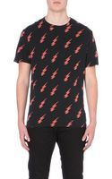 Paul Smith Lightening-embroidered Jersey T-shirt - Lyst