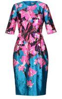 Prabal Gurung Kneelength Dress - Lyst