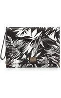Jason Wu Jourdan 2 Tropicalprint Leather Clutch Bag - Lyst