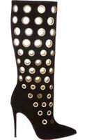 Christian Louboutin Apollo Knee Boots - Lyst