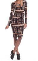 Plenty By Tracy Reese Ruched T Dress - Lyst